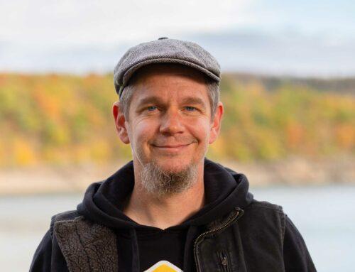 Gestatten: Christian Stein  Der kreative Kopf im Hintergrund
