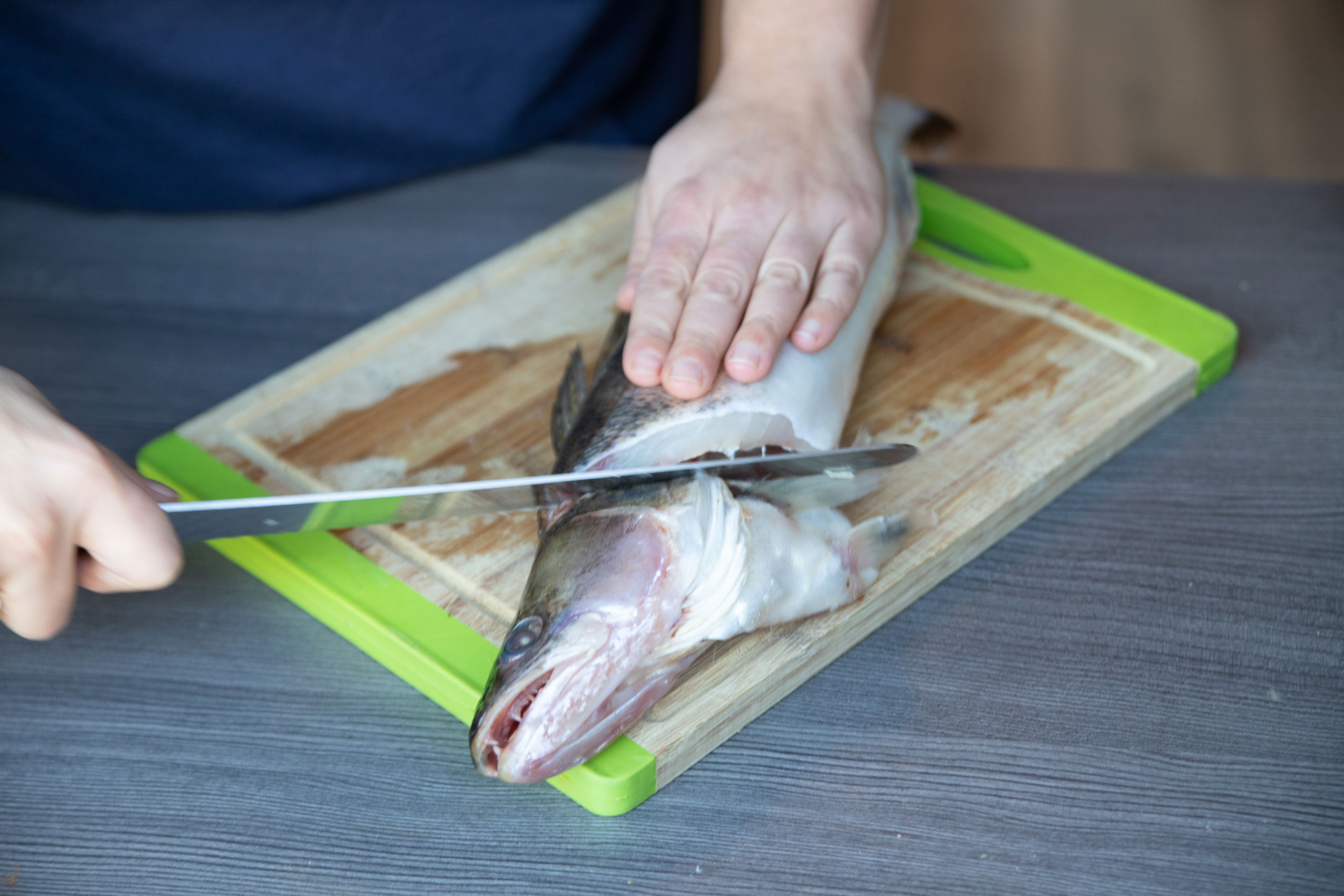 Catch and Cook - Zander zerlegen